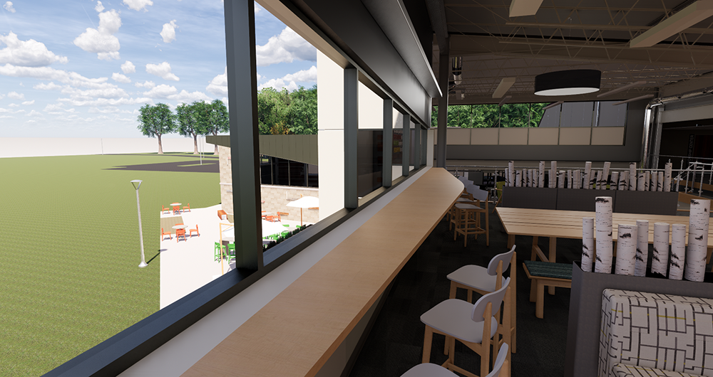 Chapel Pointe Main Level Lobby Lounge