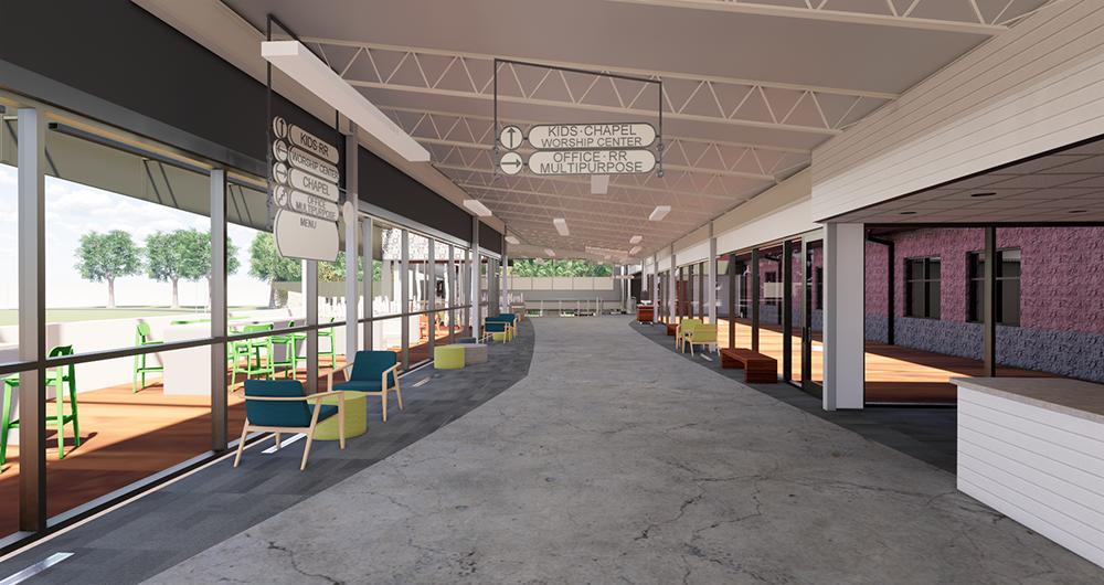 Chapel Pointe Main Level Lobby