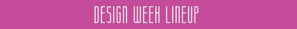 design-week-lineup