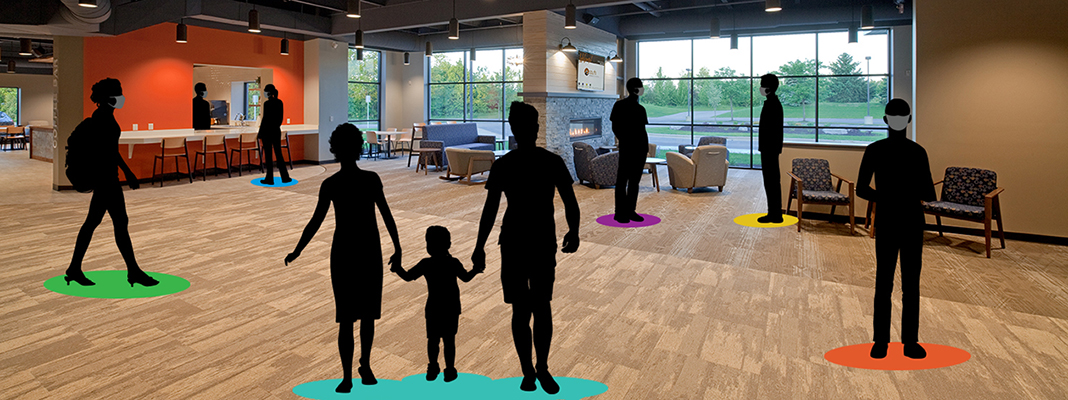 Help! How Do We Use Our Lobby to Connect in the Midst of COVID?